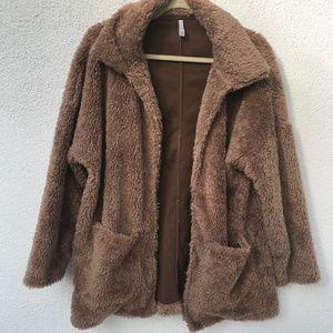Sherpa Teddy Bear Coat by Z Supply